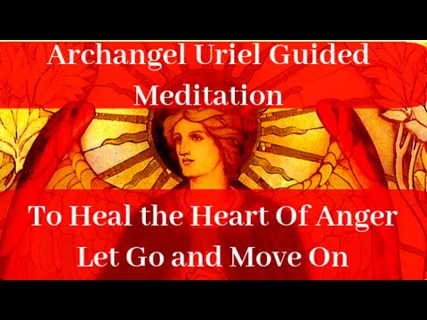Prayer to Archangel Uriel to Heal and Release Anger