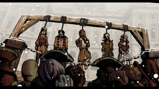YE BANISHED PRIVATEERS – Drawn And Quartered (Official Animated Video) | Napalm Records