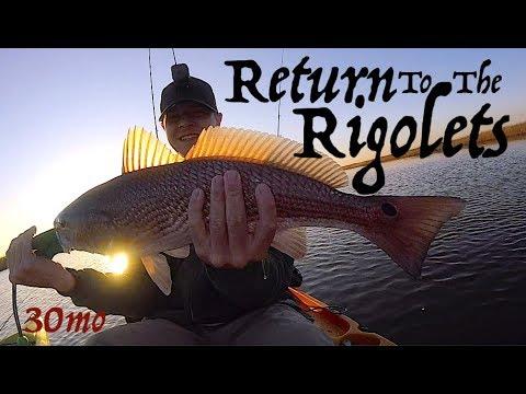 RETURN TO RIGOLETS - Kayak Fishing Slidell Louisiana