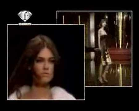 Fashion TV - Model. Bianca Balti Fall winter  Milan 05 06