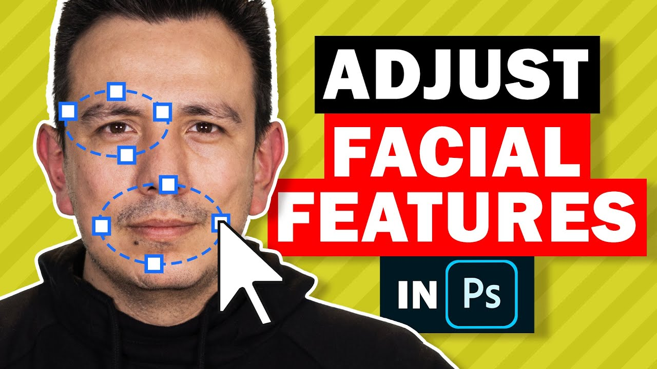 2 MAGICAL Tools To Adjust Facial Features in Photoshop!