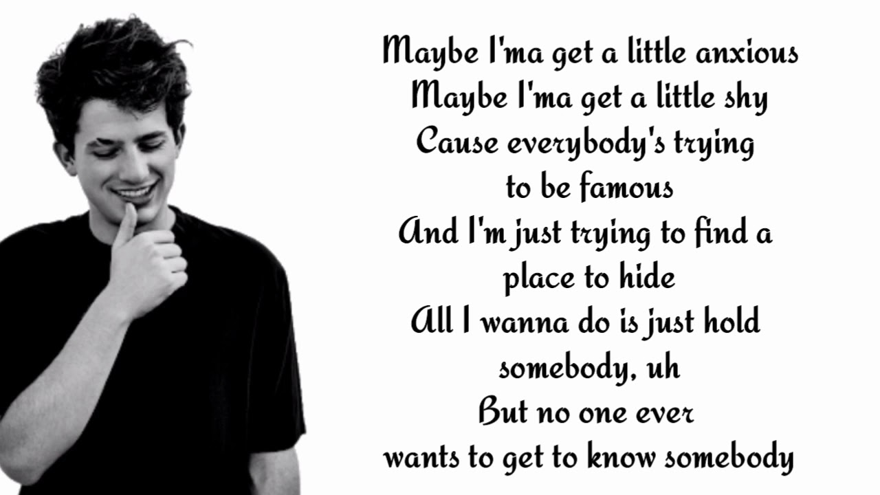 Charlie puth - The way I am ( lyrics )