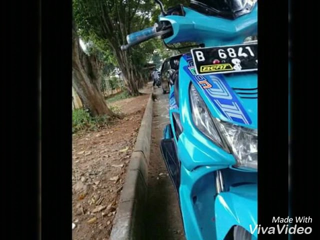 Modifikasi Simple Honda Beat Karbu