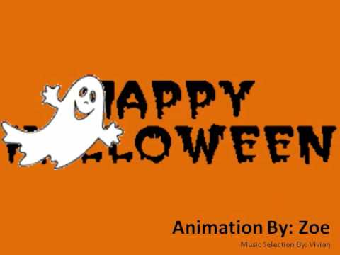 PowerPoint Halloween Animation Created By Zoe - YouTube
