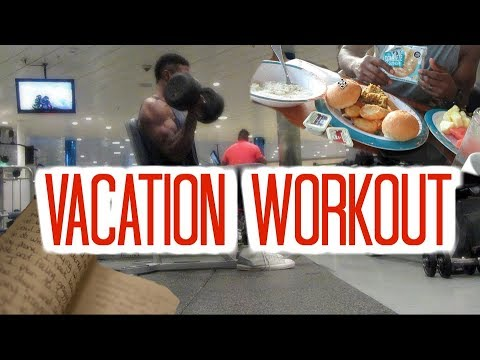 Full Body Workout, Journaling, and Food on Vacation