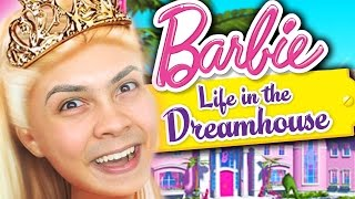 WEIRDEST CHILDRENS GAME!?! (Barbie Dreamhouse Party) Thumbnail