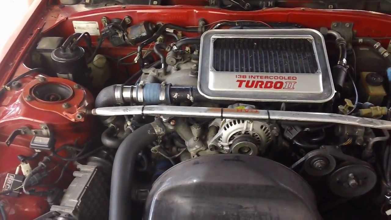 1988 RX7 FC3S Turbo II  Walkaround  start up  YouTube