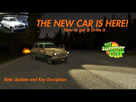 [BETA] Update: The NEW CAR is HERE! How to get & Drive it | My Summer Car