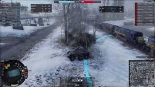 Видеоурок 2 Let's Play AW R_A_U Столкновение PvP Победа урон 26k 10-13 kill  Armored Warfare Армата