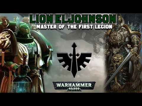 The Primarchs: Lion El'Johnson, Master of the First Legion (Dark Angels) | Warhammer 40,000
