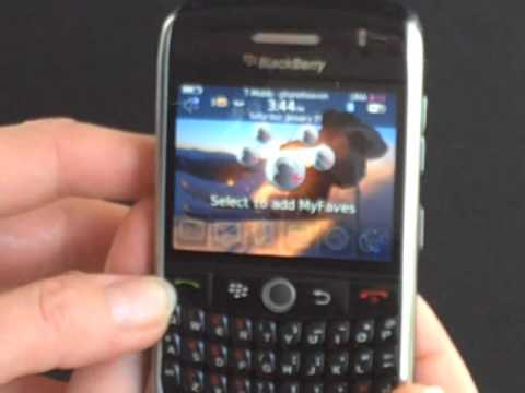 BlackBerry Curve 8900 Smartphone Review