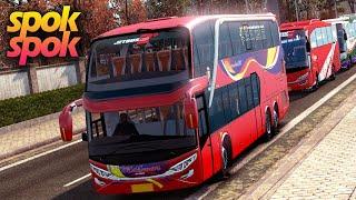 Spok-spok Bus Makmur Jetbus Double Decker ETS2 + HDFX EFArt Project