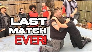 INCREDIBLY EMOTIONAL RETIREMENT MATCH! KIDS FINAL CHANCE TO BE YOUTUBE WRESTLING CHAMPION!