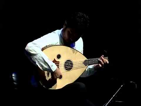 Syrian oud player Kinan Ednawi festival in Damascus
