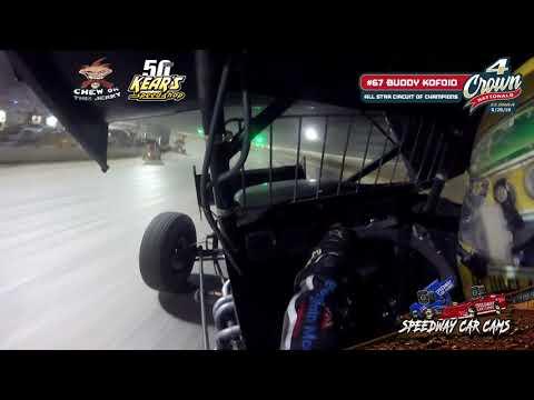 #67 Buddy Kofoid - All Star Circuit of Champions - Eldora Speedway 9-28-19 - In-Car Camera GoPro