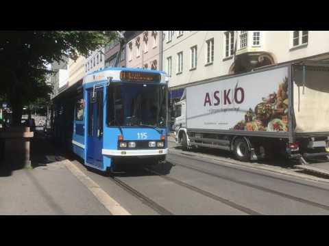 Oslo tram no. 11 Oslo Tramway  Oslo 20160628