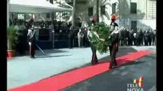 inaugurazione monumento caduti di nassirya