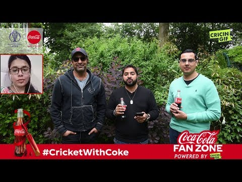 Australia vs England: Coca Cola Fan Zone Powered by Cricingif