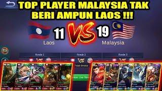 Top Player MALAYSIA Tak Beri Ampun LAOS !!! MALAYSIA VS LAOS Arena Contest