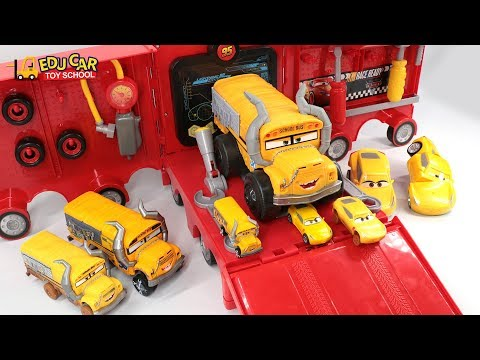 Thumbnail: Learning Color Special Disney Pixar Cars Lightning McQueen Mack Truck Play set for kids car toys