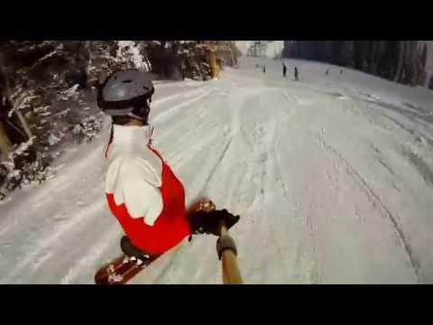 Skull Snowboarding Resort Advertising