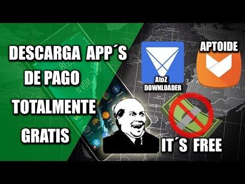 Descarga aplicaciones y juegos de paga gratis en tu celular   Aptoide, AtoZ Downloader