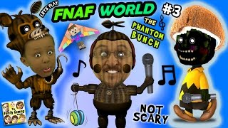 Video ♫ FNAF WORLD ♫ #3: THE PHANTOM BUNCH! w/ FGTEEV Duddy & Chase (More Talk, Less Gameplay) download MP3, 3GP, MP4, WEBM, AVI, FLV September 2018