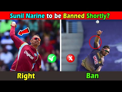 Sunil Narine to be banned from IPL 2020 from KKR squad for illegal bowling action
