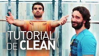 Como Fazer um Clean / Power Clean and Squat Clean Tutorial - Dicas do Salgueiro