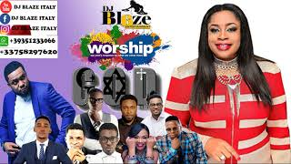 AFRICA MEGA WORSHIP MIX VOLUME 6 2018 BY DJ BLAZE mp3 DJ BLAZE SINACH_FRANK EDWARD MP3