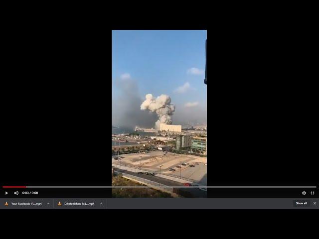Lebanon Beirut Explosion: Massive explosion shakes Lebanon's capital Beirut