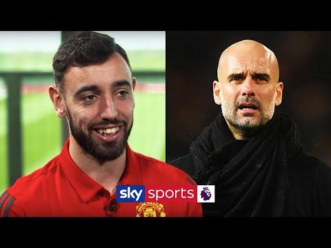 Bruno Fernandes reveals why he shushed Pep Guardiola in the Manchester Derby
