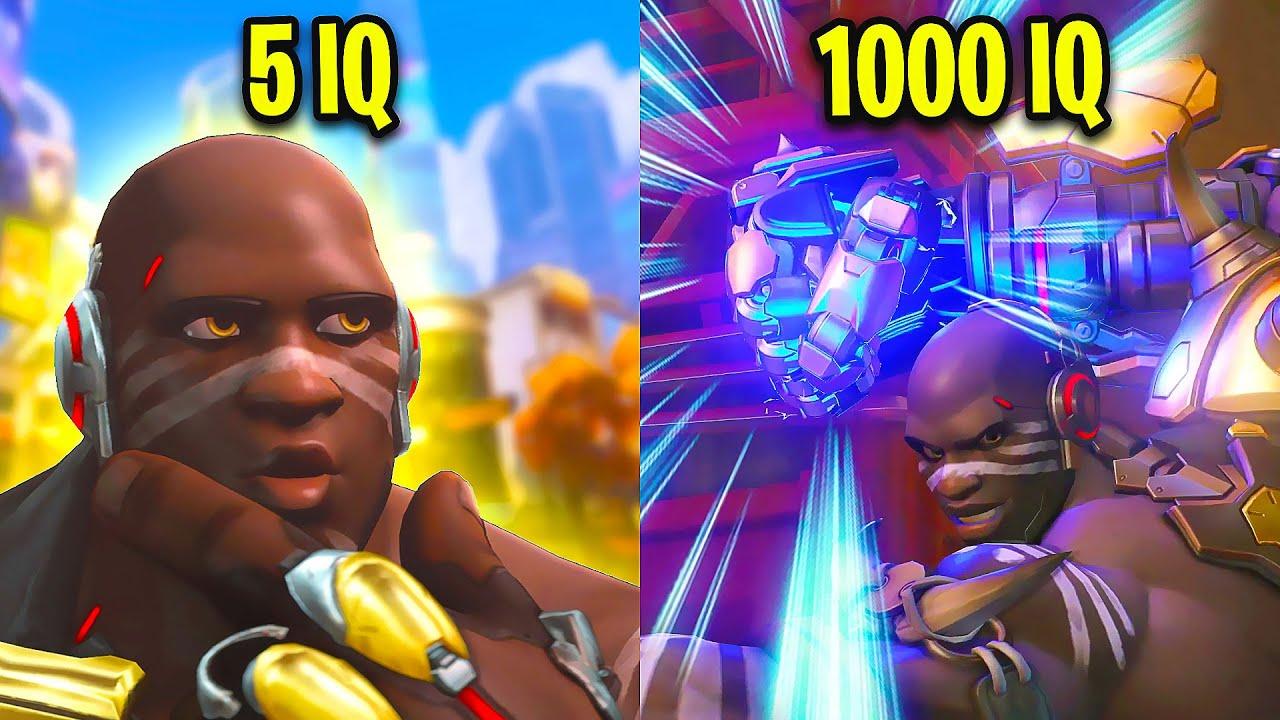 5 IQ VS 1000 IQ Overwatch Players!