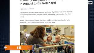 Formerly Conjoined Twins Released From Dallas Hospital