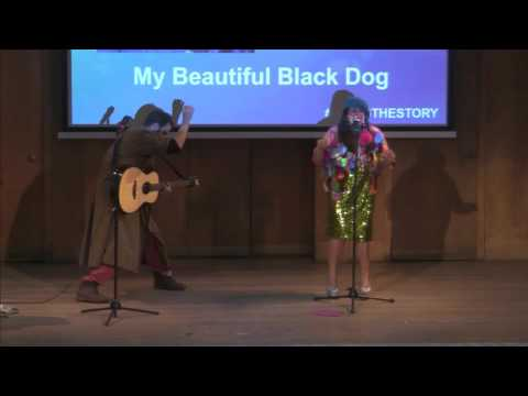 Brigitte Aphrodite 'My Beautiful Black Dog' at Being the Story