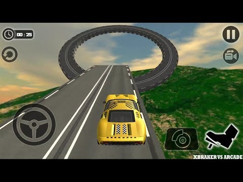Impossible Taxi Driving Simulator Tracks 2017 New Stage - AndroidGamePlay FHD