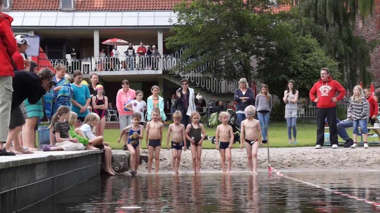 Swim & Run 2013 im Altstadtbad Krähenteich in Lübeck