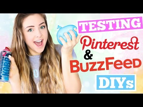 Testing Pinterest and Buzzfeed DIYs !!