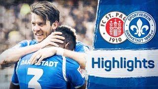 Darmstadt 98 | Highlights vom Auswärtssieg gegen St. Pauli