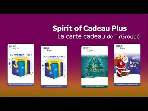 Spirit Of Cadeau Plus La Carte Cadeau De Tirgroupe Youtube
