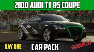 game play of the 2010 Audi TT RS Coupe on Le mans Circuit from the ...