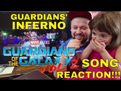 """GUARDIANS' INFERNO"" MUSIC VIDEO - GOTG 2 - Reaction!!! Guardians of the Galaxy Vol. 2"