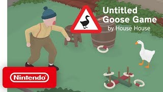 Untitled Goose Game - Launch Trailer - Nintendo Switch Video