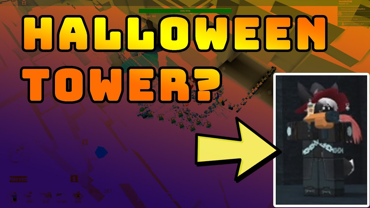 Peak tv may have been a bit less abundant than i. TDS Halloween Tower Leaked? Tower Defense Simulator ROBLOX - YouTube