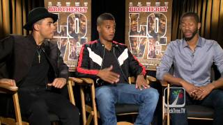 Brotherly Love Interviews w/ Quincy Brown, Cory Hardrict and Eric D ...