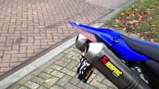 xt660x akrapovic walkaround revs