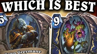 Which Shaman Deck is BETTER? | Shudderwock VS Even Shaman | THE WITCHWOOD | HEARTHSTONE