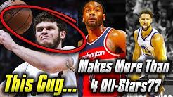 8 CRAZY NBA Salary Facts For The 2018-19 Season