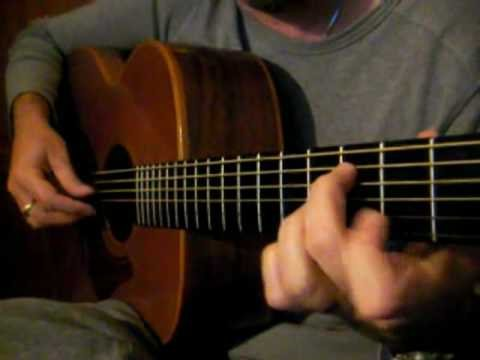 The Rights of Man - Irish Guitar - EADGBE Fingerstyle Slow Hornpipe