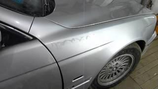 Подготовка и покраска в серебро часть 3   как убрать подтек с лака(, 2015-09-20T20:21:12.000Z)